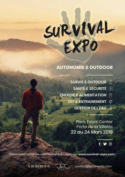 Salon du survivalisme : du 23 au 25 mars 2018