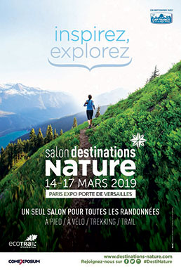 Flyer salon Destinations Nature 2019