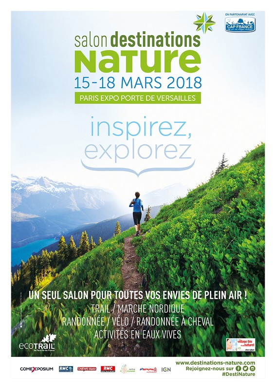 Salon Destinations Nature du 15 au 18 mars 2018