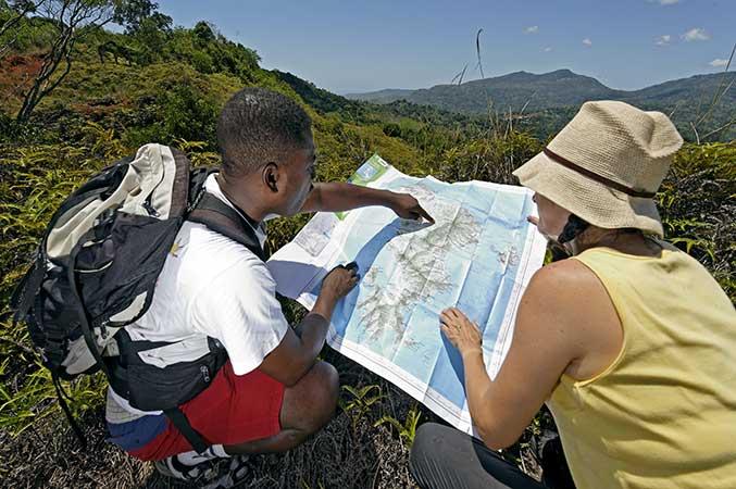 Lire une carte : s'orienter en randonnée