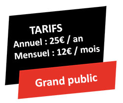 Tarifs grand public GR @ccess
