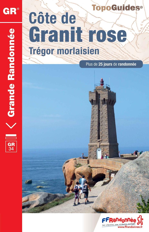 Topoguide - GR® 34 - Côte de Granit rose - Trégor morlaisien