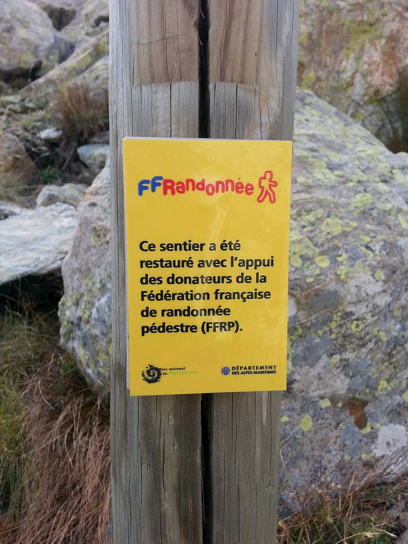 Le GR® 52 dans le Parc national du Mercantour rénové
