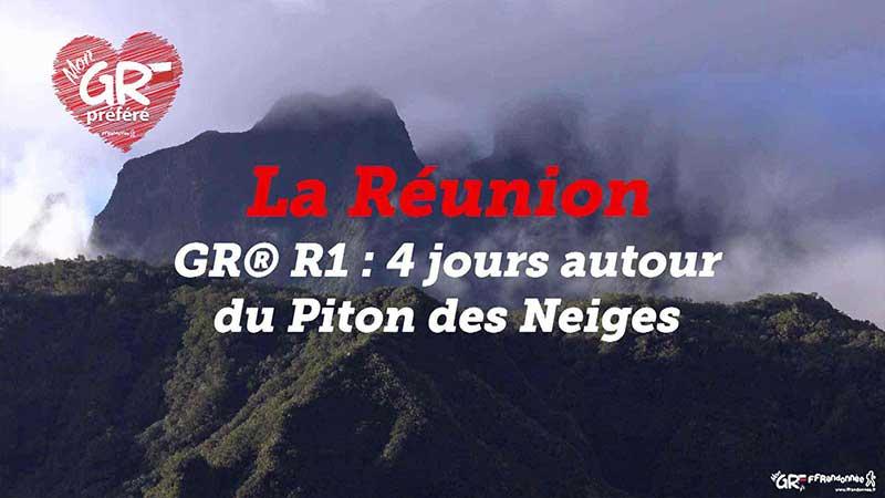GR® R1 : tour du Piton des Neiges