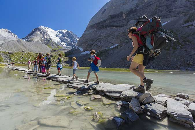 GR® 55 : quatre jours au cœur du Parc national de la Vanoise