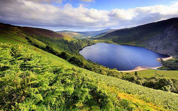 Wicklow Way, Irlande. Crédit : Jon Arnold Images / HEMIS.fr