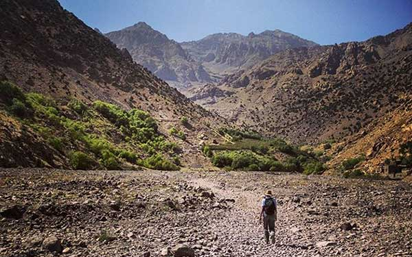 Ascension du Djebel Toubkal, Maroc.