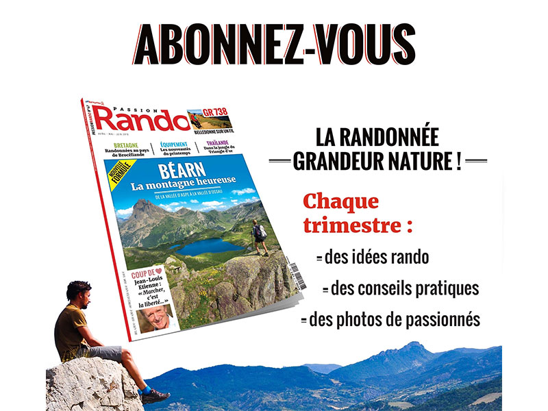 Abonnement Passion Rando Magazine