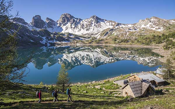 Parc national du Mercantour, lac d'Allos. © Michel CAVALIER / HEMIS