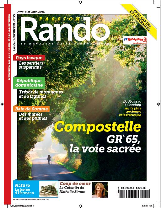 Couverture du Magazine Passion Rando n°39