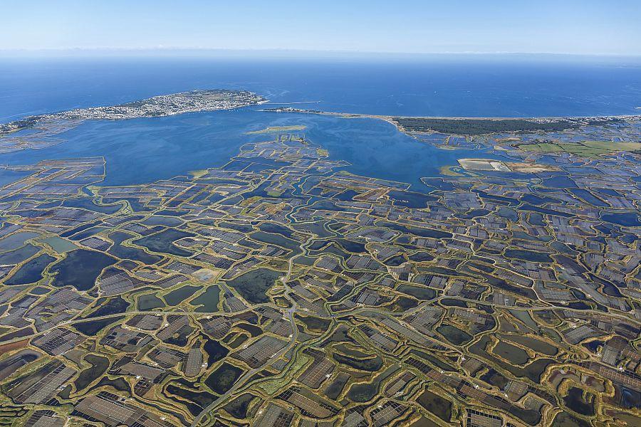 De la Vilaine à la Loire par le littoral et les marais salants