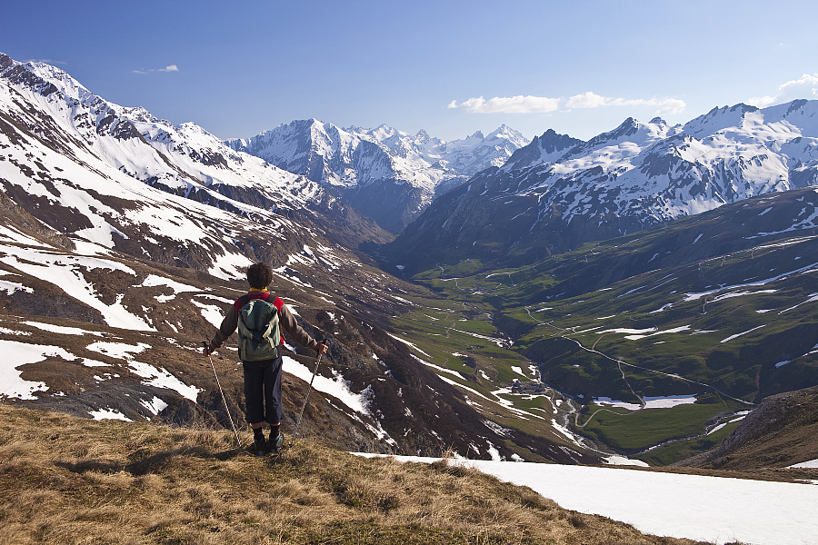 Le sentier GR Tour du Mont-Blanc