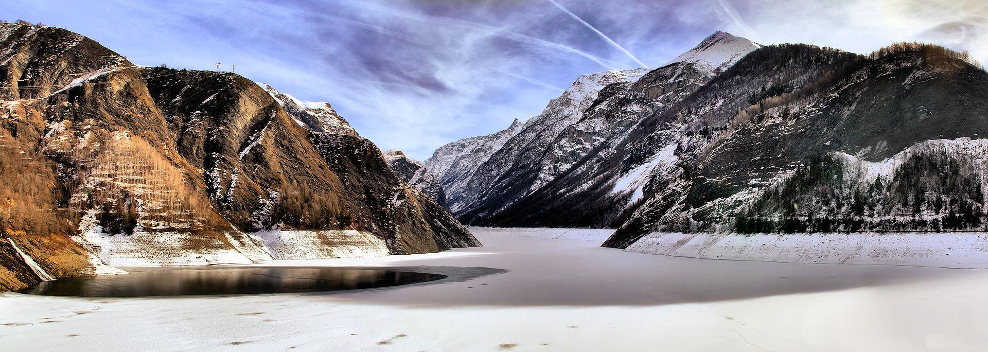 Le sentier GR 54C, Du lac de la Muzelle au Rif-Tort