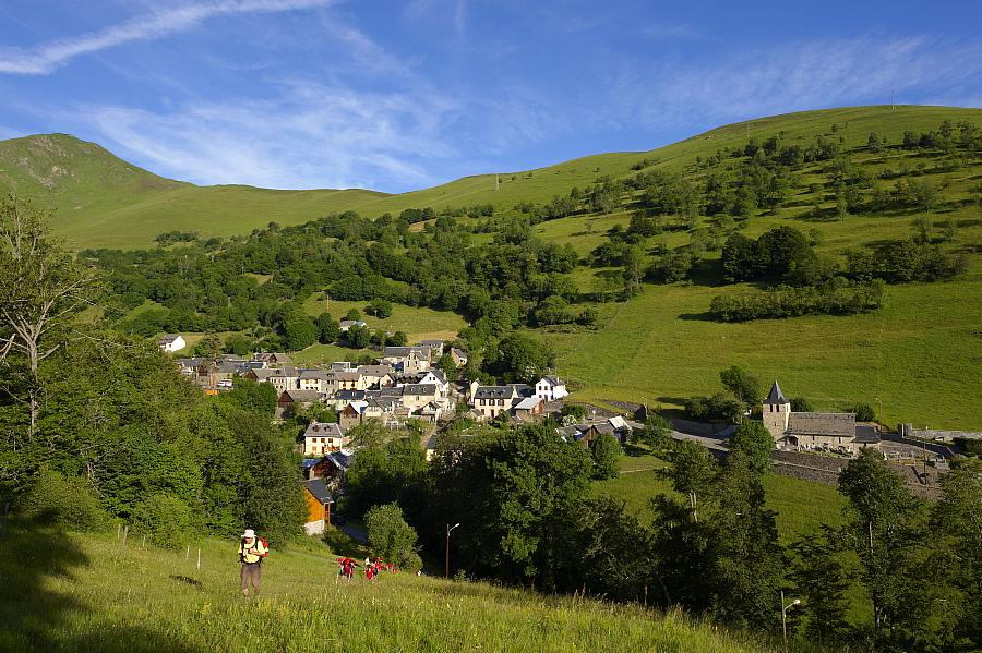 Le sentier GR de Pays Tour d'Oueil-Larboust
