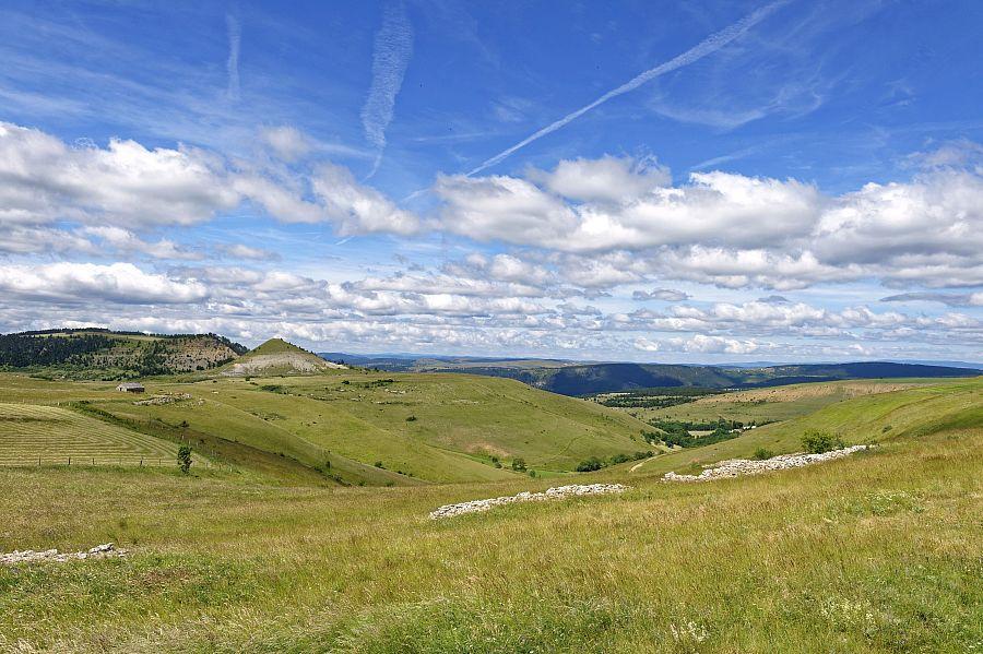 GR® 70 Chemin de Stevenson, traversée du mont Lozère